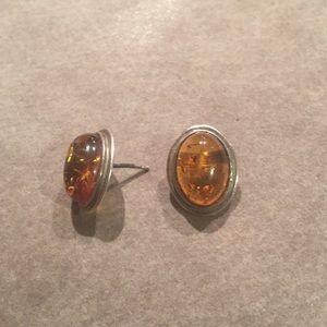 925 Silver earrings.
